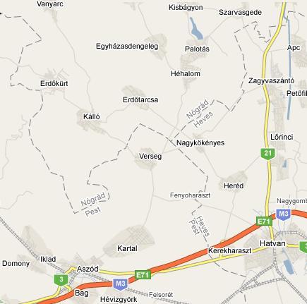 kartal térkép Megközelítés | kisbagyon.hu kartal térkép